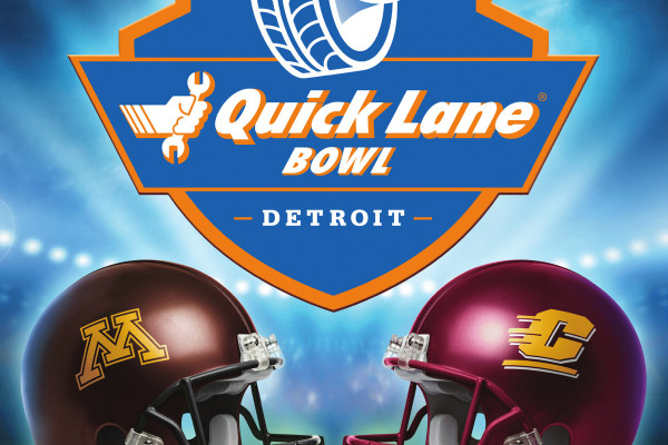 Minnesota and Central Michigan to play in 2015 Quick Lane Bowl © Ford Motor Company