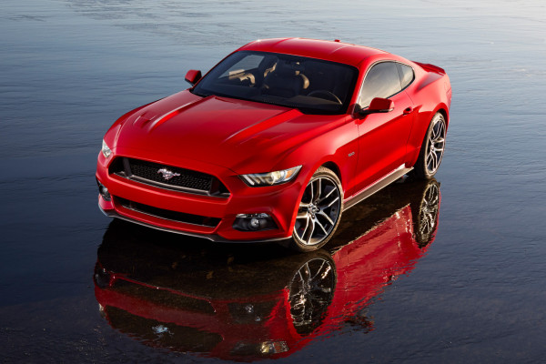 2015 Ford Mustang © Ford Motor Company