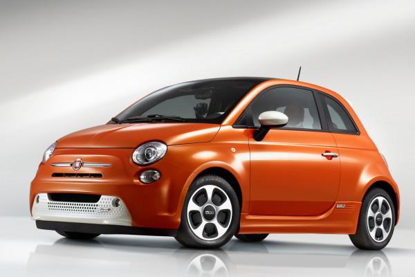Fiat 500e © FIAT Group