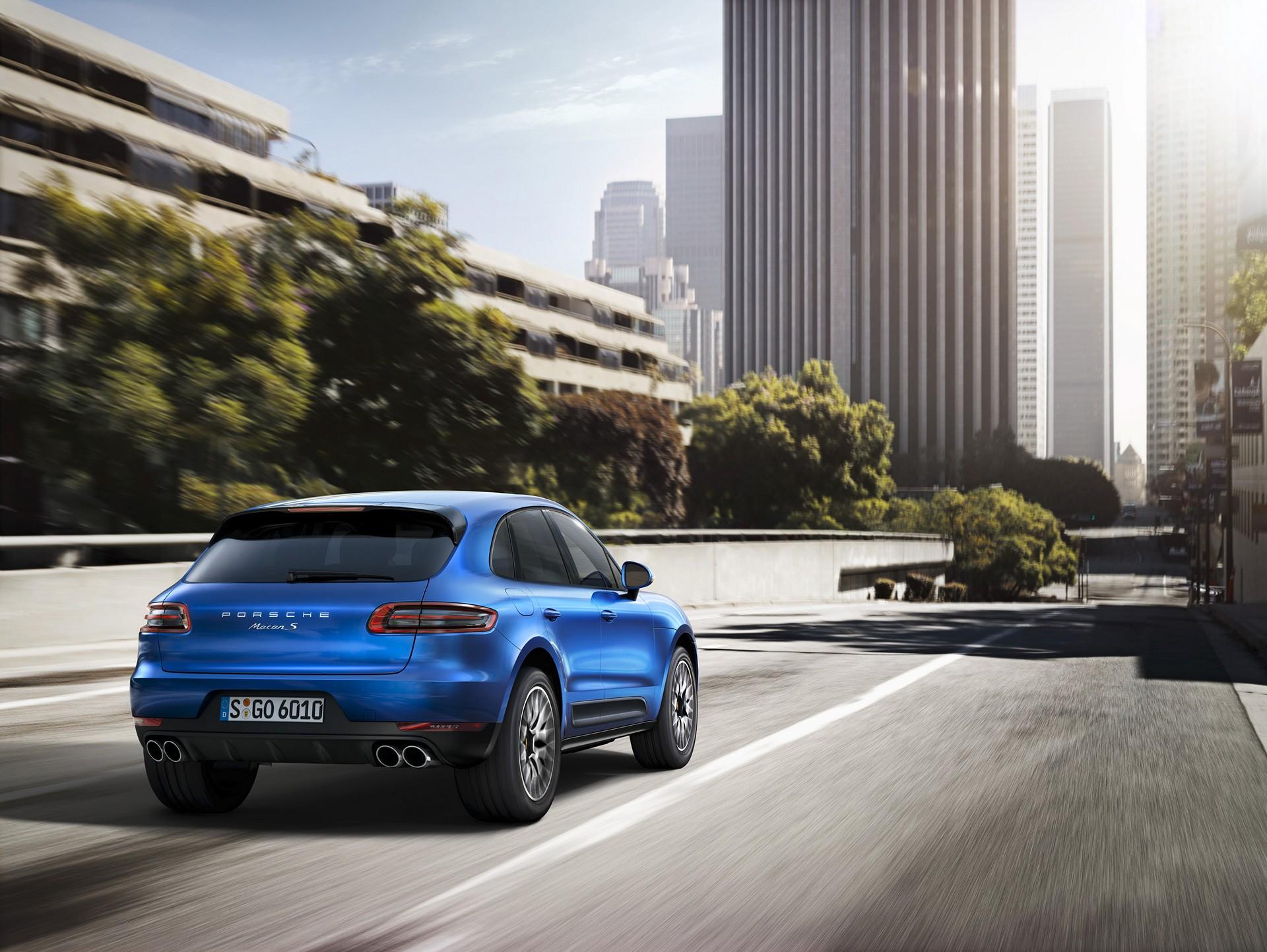 2015 Porsche Macan © Dr. Ing. h.c. F. Porsche AG