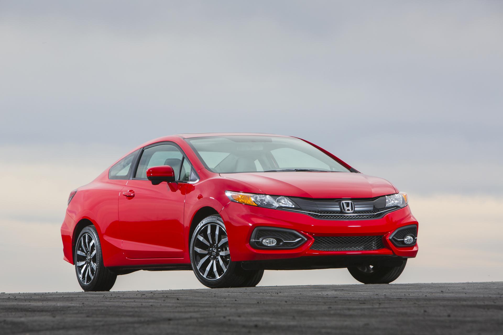 2015 Honda Civic Coupe © Honda Motor Co., Ltd.