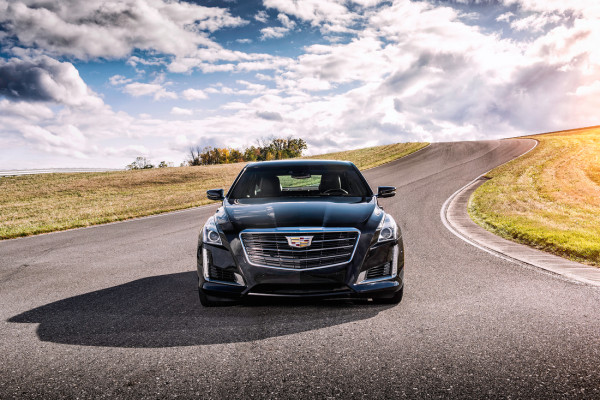2016 Cadillac CTS V-Sport © General Motors