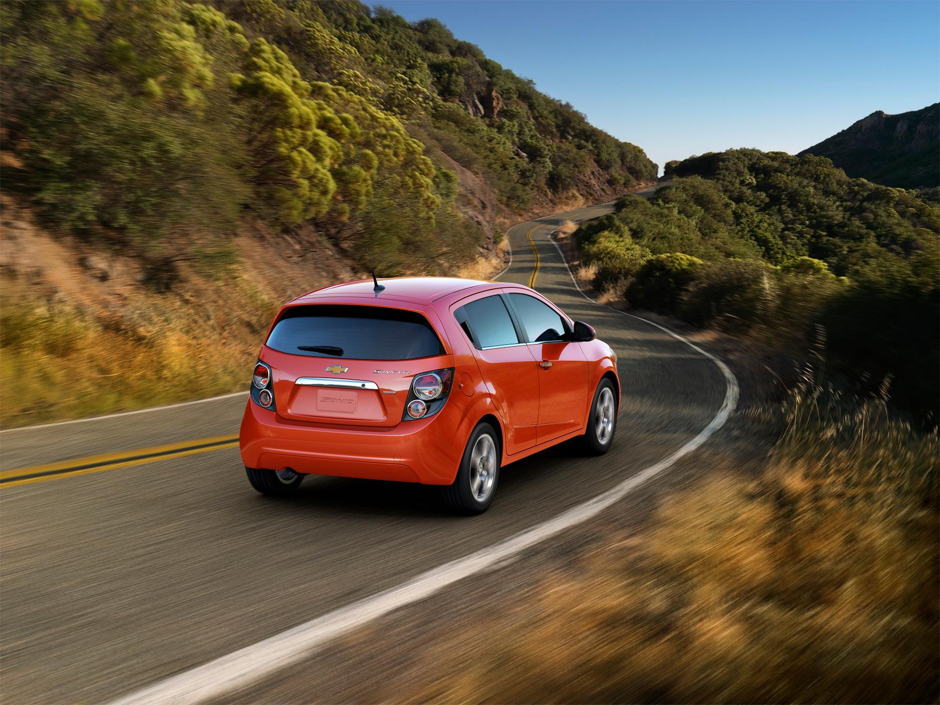 2016 Chevrolet Sonic hatchback © General Motors