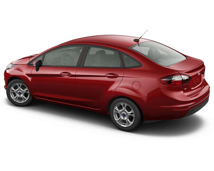 2016 ford fiesta se sedan ruby red side 2 carrrs auto portal. Black Bedroom Furniture Sets. Home Design Ideas