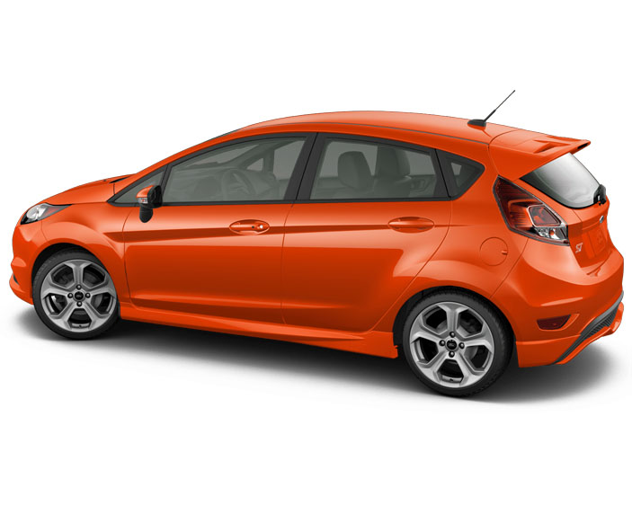 2016 ford fiesta st orange brand new carrrs auto portal. Black Bedroom Furniture Sets. Home Design Ideas