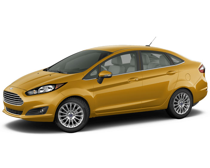 2016 ford fiesta titanium orange brand new carrrs auto. Black Bedroom Furniture Sets. Home Design Ideas