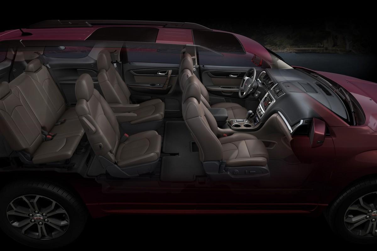 2016 Gmc Acadia Interior Seating Up General Motors