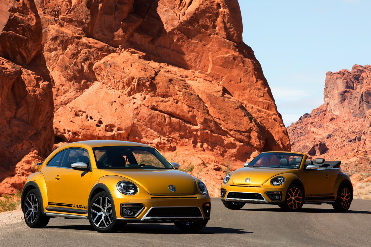 2016 Beetle Dune © Volkswagen of America, Inc.
