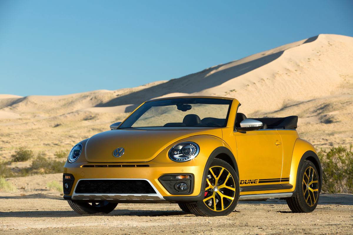 2016 Beetle Dune © Volkswagen of America, Inc.