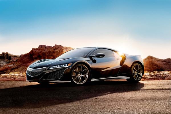 2017 Acura NSX © Honda Motor Co., Ltd.