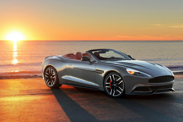 2015 Aston Martin Vanquish Volante © Ford Motor Company