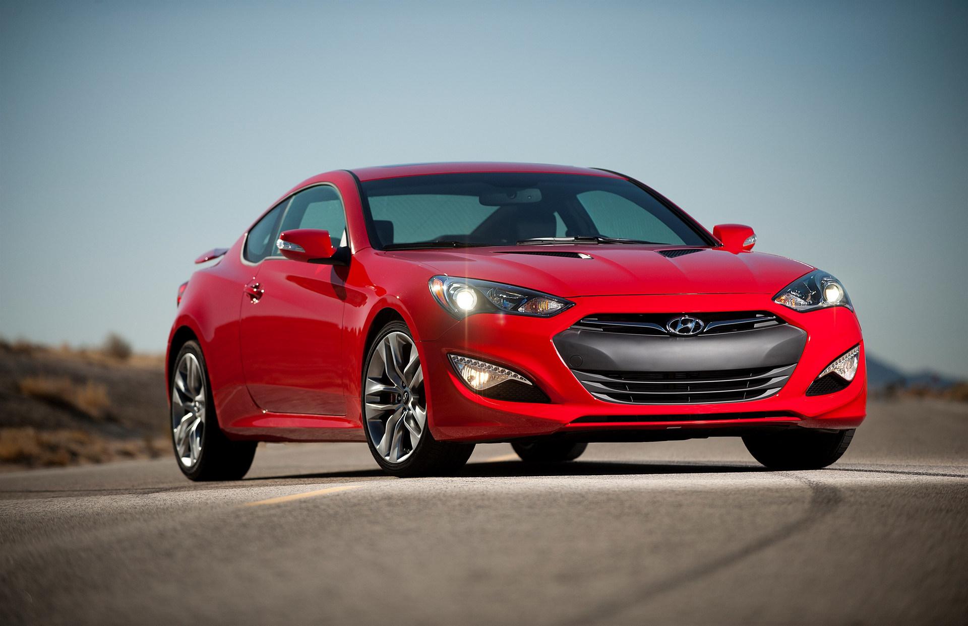 2015 Hyundai Genesis Coupe © Hyundai Motor Company