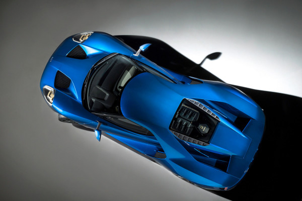 The all-new Ford GT supercar © Ford Motor Company