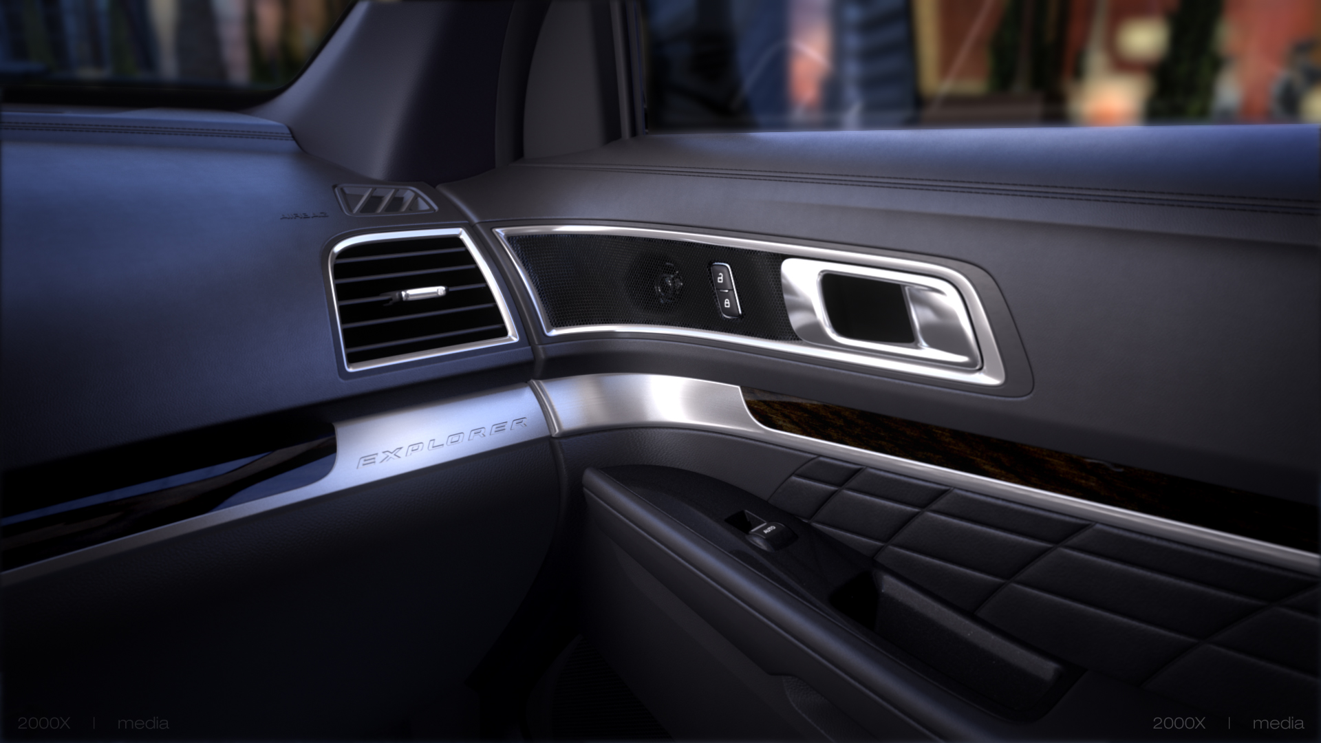 2016 Ford Explorer Platinum Now Available With All New Ebony Black