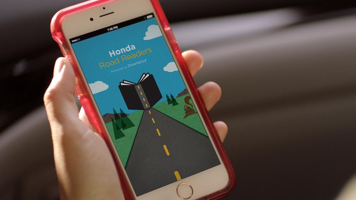 Honda Road Readers App © Honda Motor Co., Ltd.
