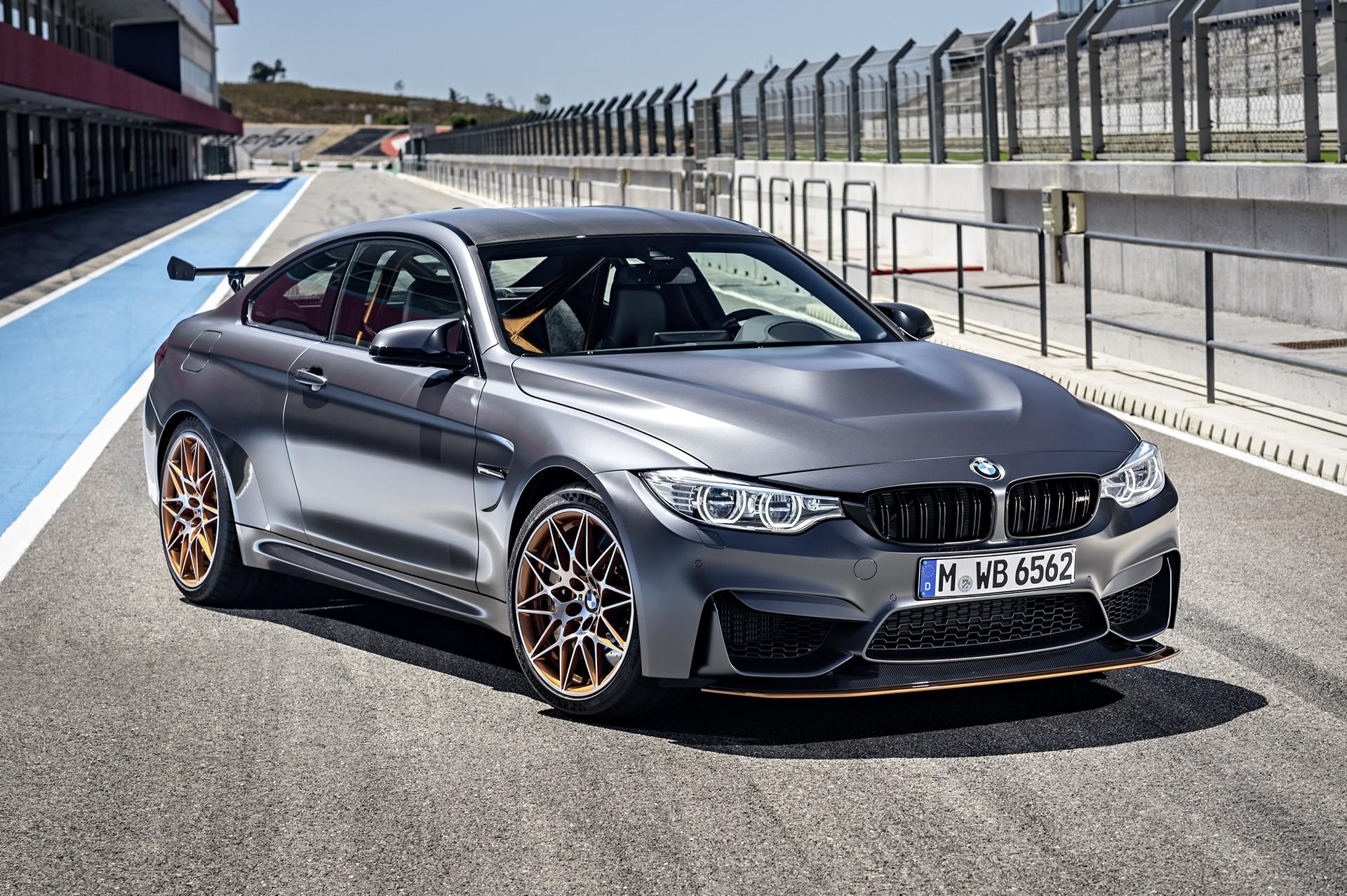 The new 2016 BMW M4 GTS © BMW AG