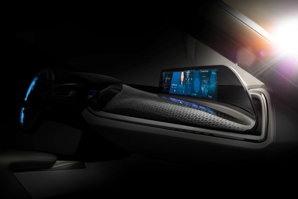 CES 2016, Vision Car Interior and User-Interface of the future © BMW AG