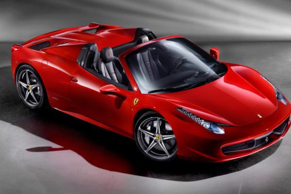 2015 Ferrari 458 Spider © Ferrari S.p.A.