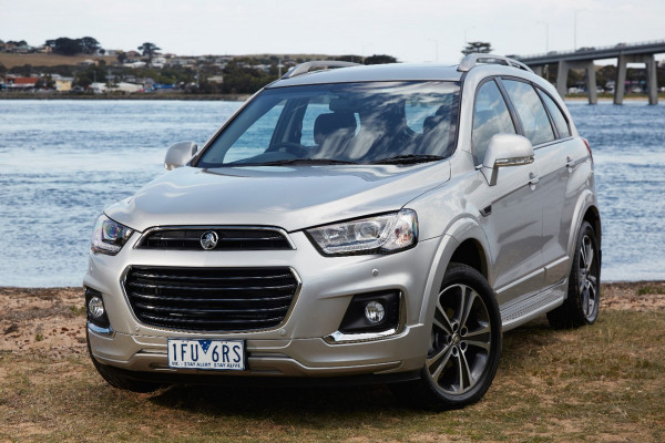 2016 Holden Captiva © General Motors