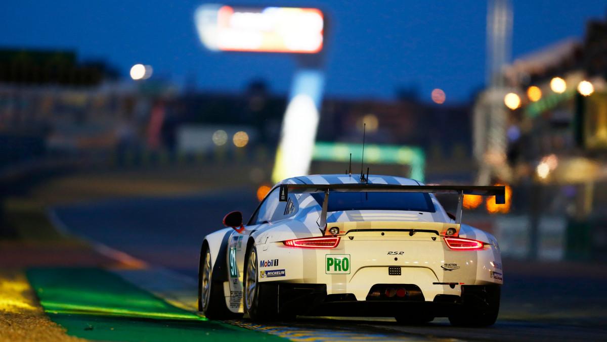 911 RSR, Porsche Team Manthey, 24h Le Mans © Dr. Ing. h.c. F. Porsche AG.