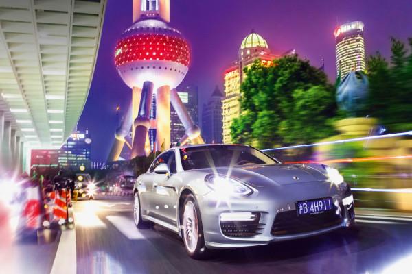 Panamera Turbo Executive, fact-finding tour Shanghai © Dr. Ing. h.c. F. Porsche AG