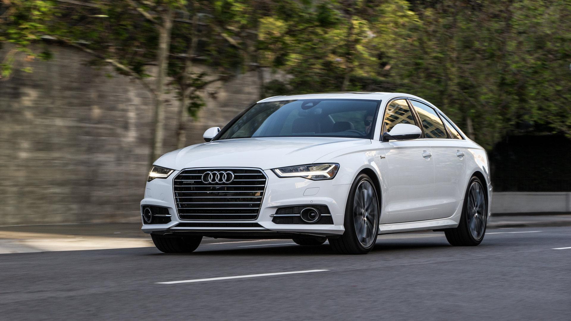 2016 Audi A6 Sedan © Volkswagen Group