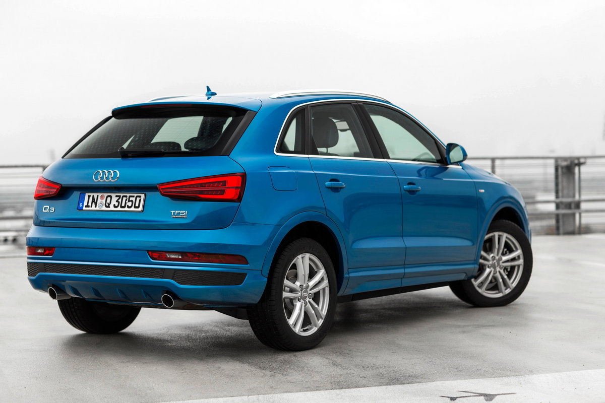 a successful car is now even better the new audi q3 review carrrs auto portal. Black Bedroom Furniture Sets. Home Design Ideas
