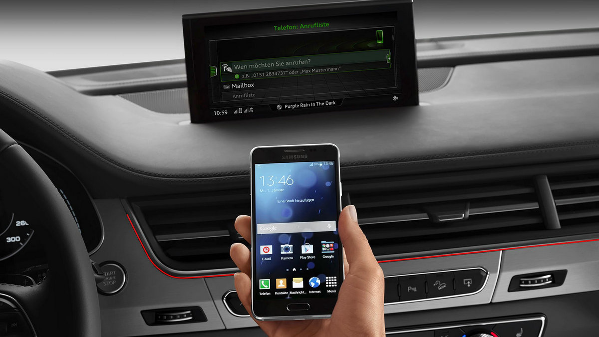 2017 Q7 Audi connect - smartphone connection © Volkswagen Group