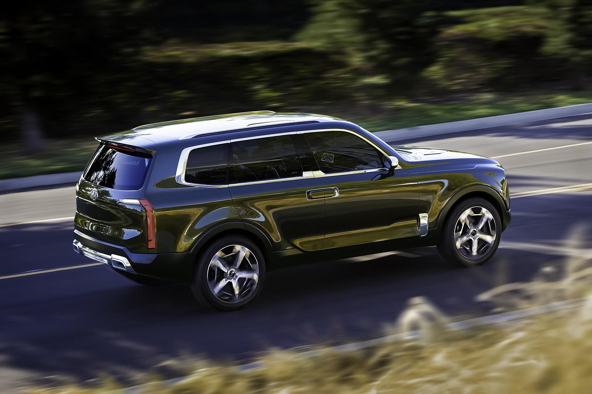 Kia Telluride Concept Makes World Debut At North American