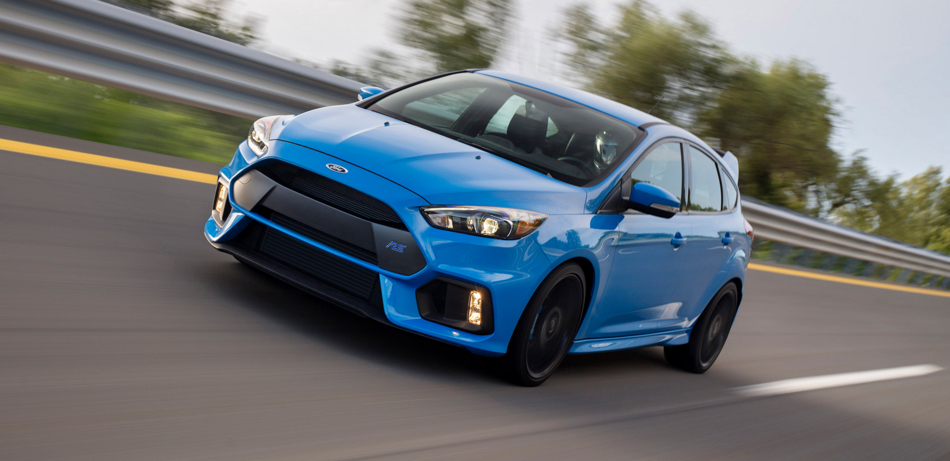 2016 Ford Focus RS © Ford Motor Company