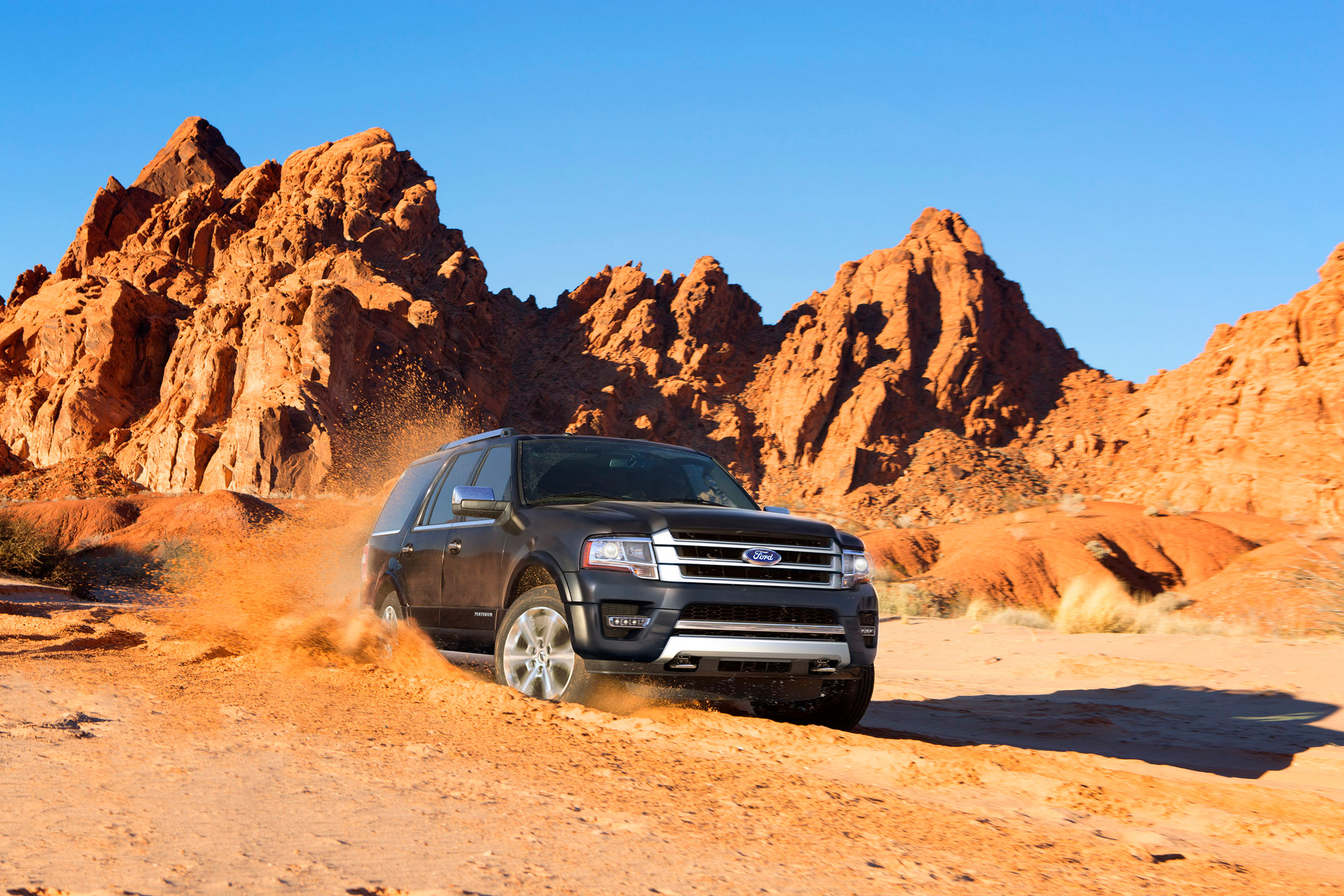 2016 Ford Expedition © Ford Motor Company
