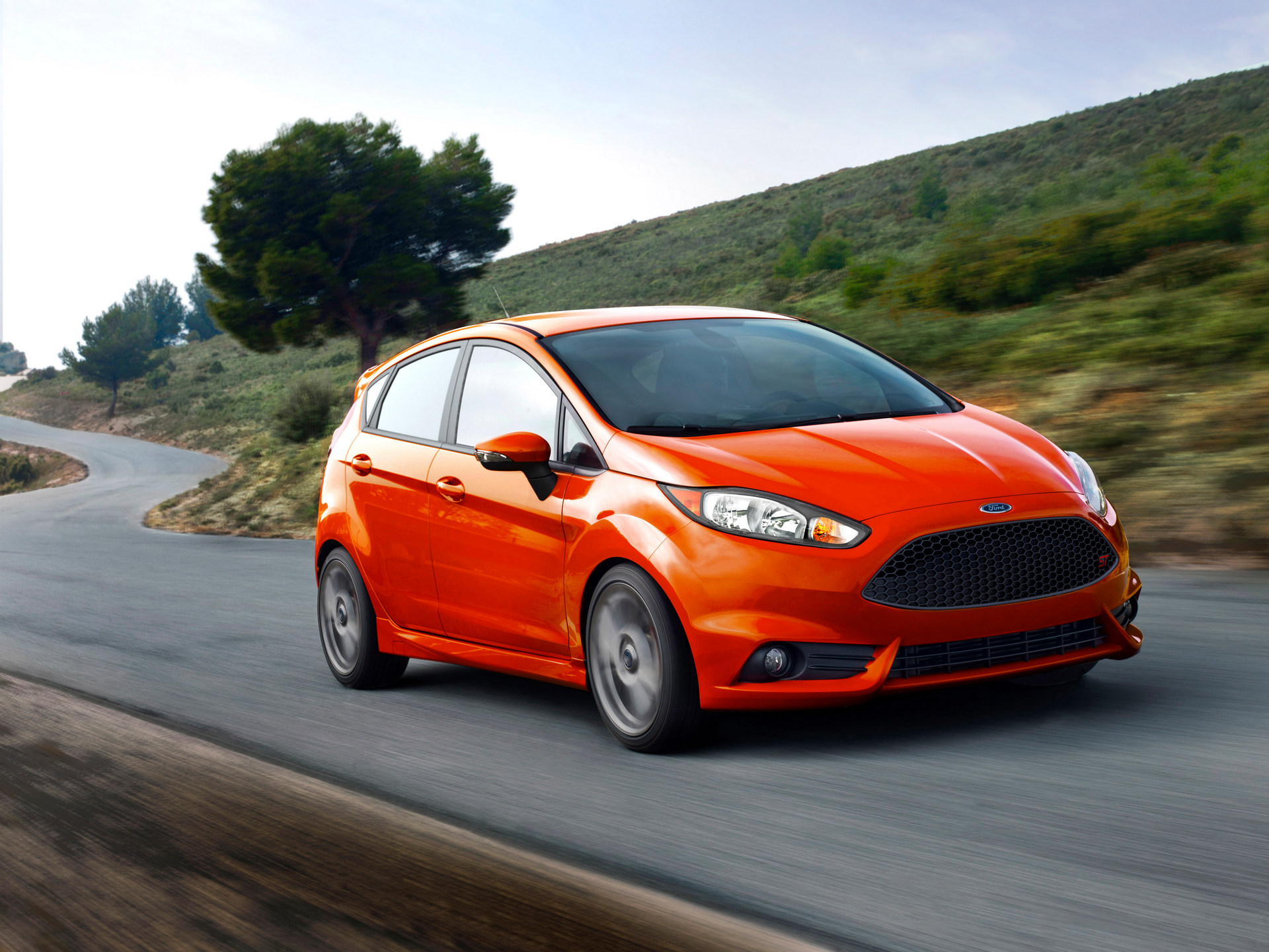 2016 Ford Fiesta ST © Ford Motor Company