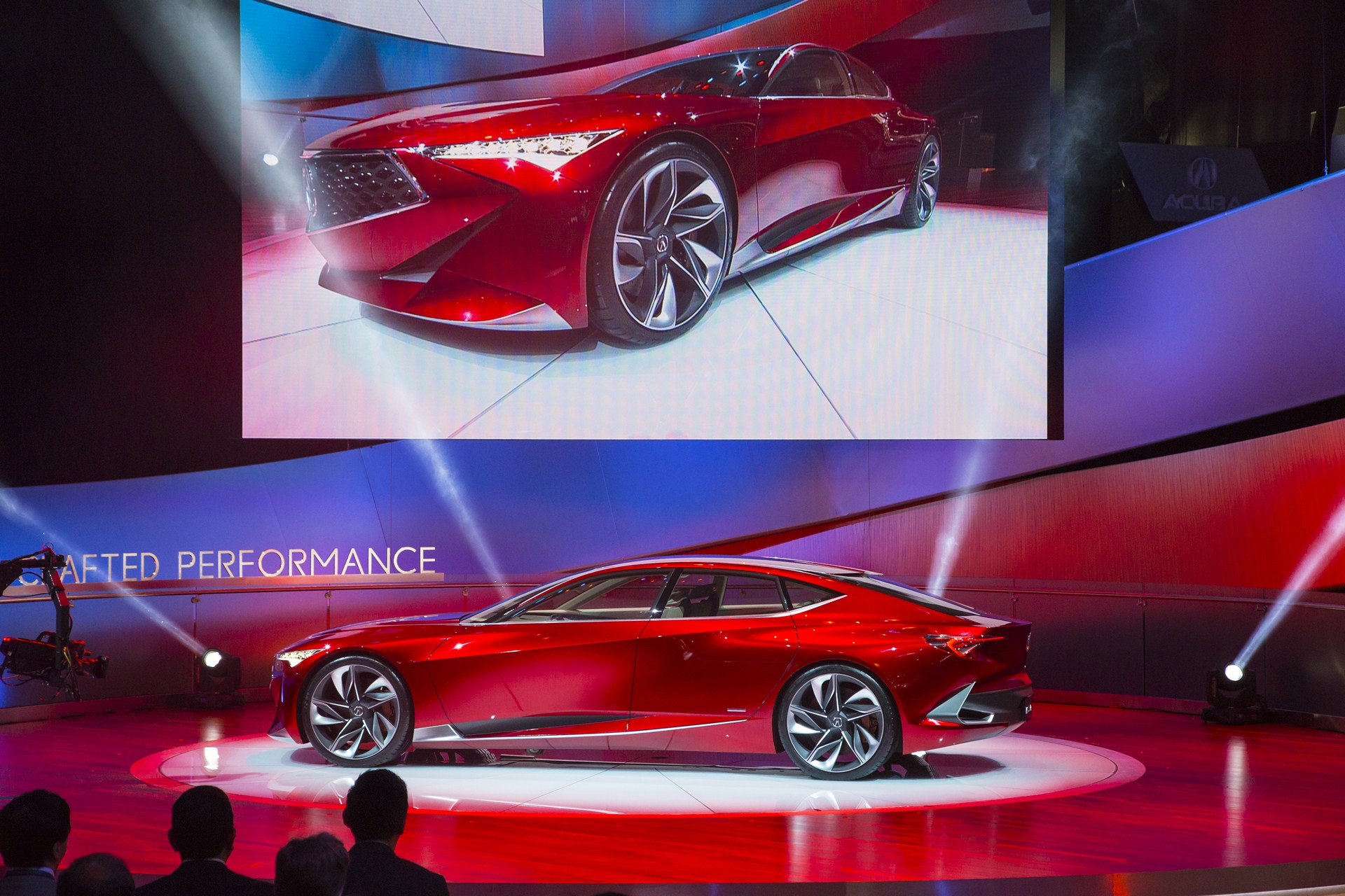 Acura Precision Concept Points To Bold Future For Acura Design Carrrs Auto Portal