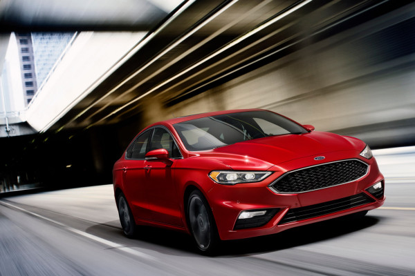 2017 Ford Fusion Sport © Ford Motor Company