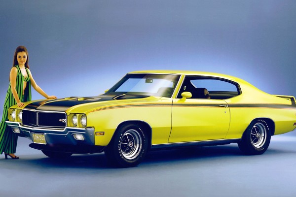 "With 510 lb-ft on tap from its 455 ""Stage 1"" V-8 engine, no other competitor in the muscle car era could top the 1970 Buick GSX's torque © General Motors"