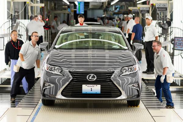 Lexus Plant in Georgetown, Kentucky, USA © Toyota Motor Corporation