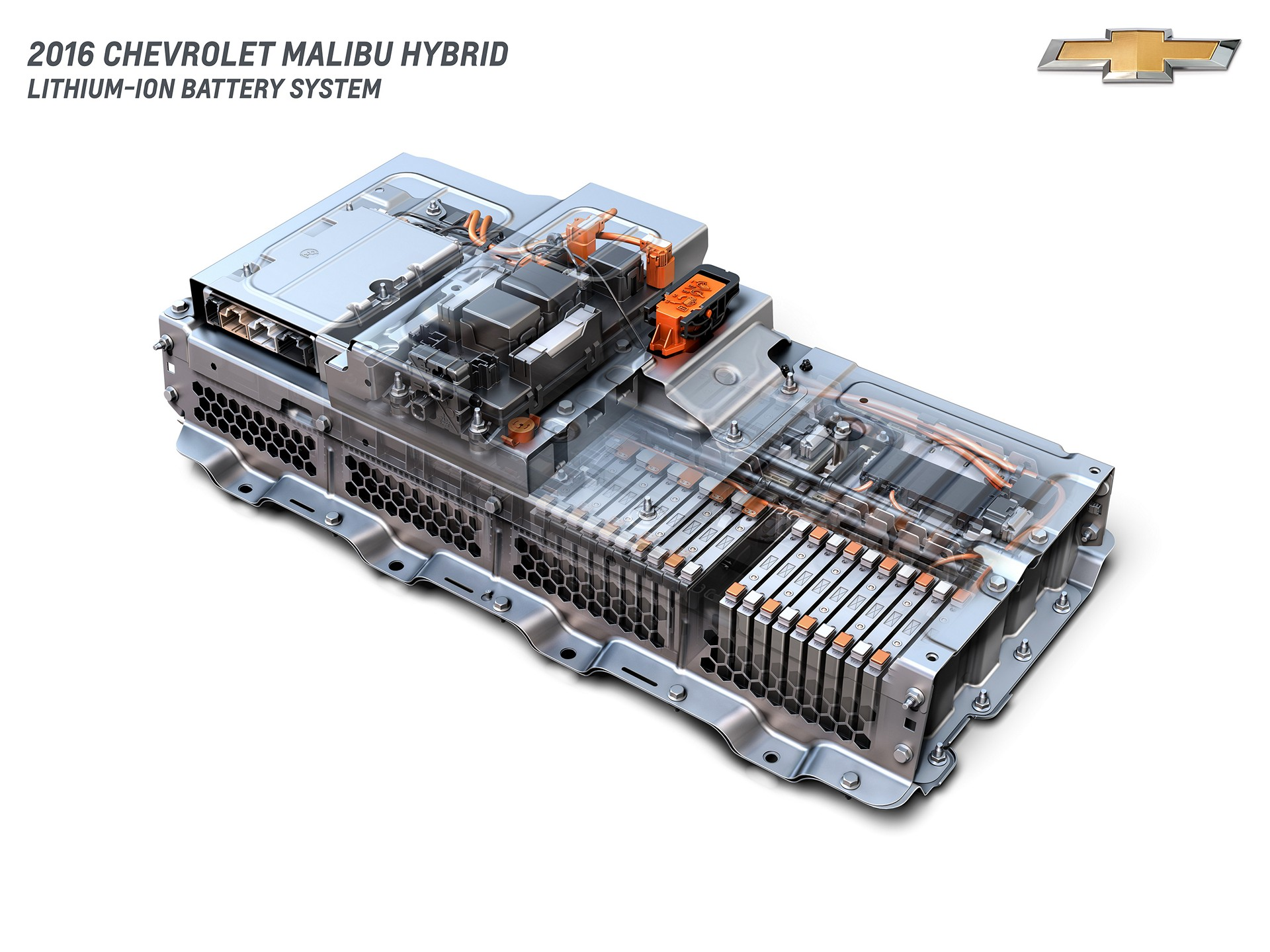 2016 Chevrolet Malibu Hybrid Lithium-Ion Battery System © General Motors