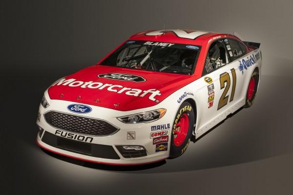 New NASCAR Fusion © Ford Motor Company