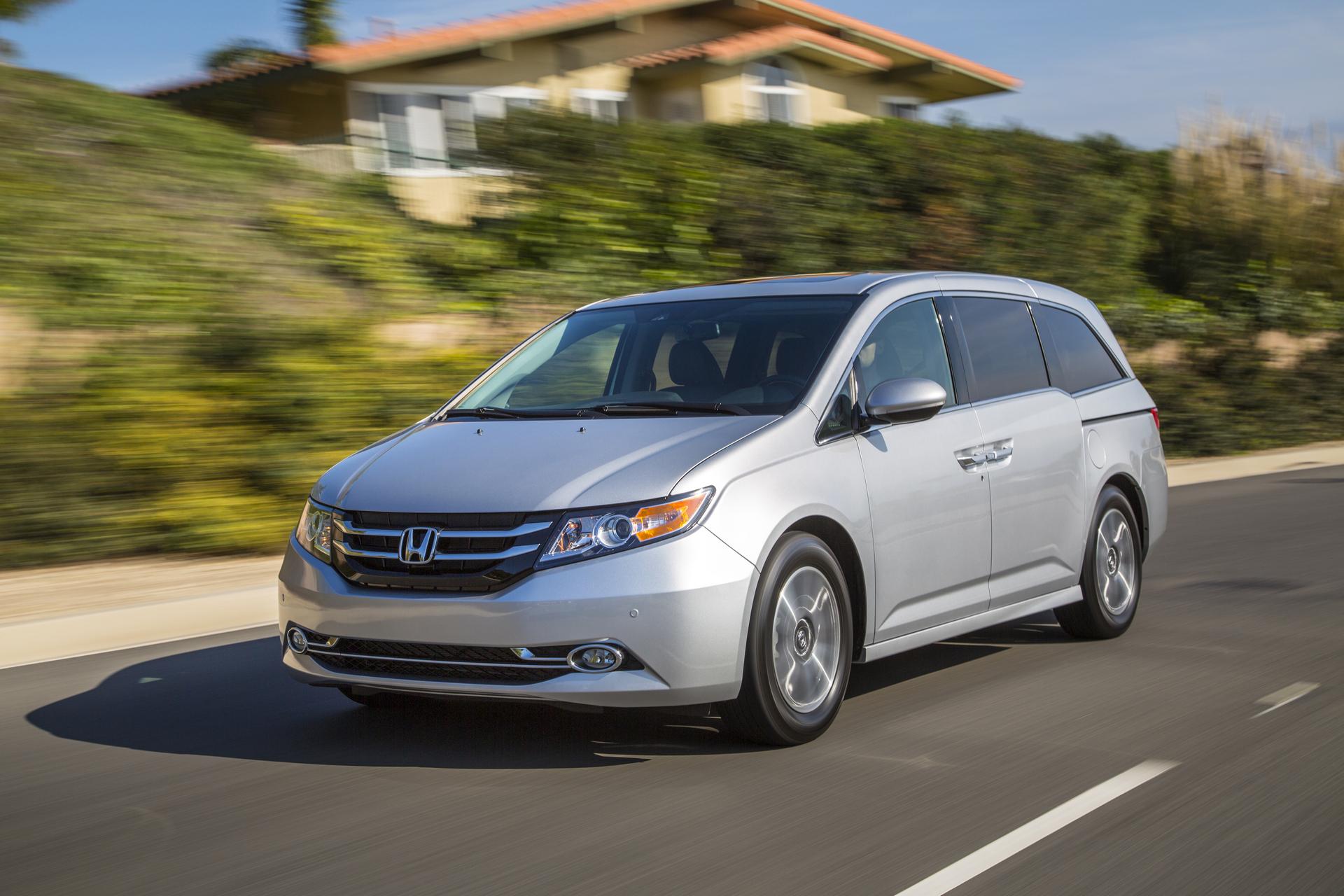 2016 Honda Odyssey © Honda Motor Co., Ltd.