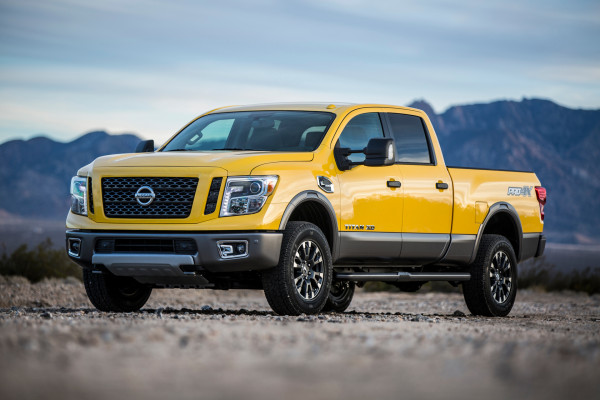 2016 Nissan TITAN XD © Nissan Motor Co., Ltd.