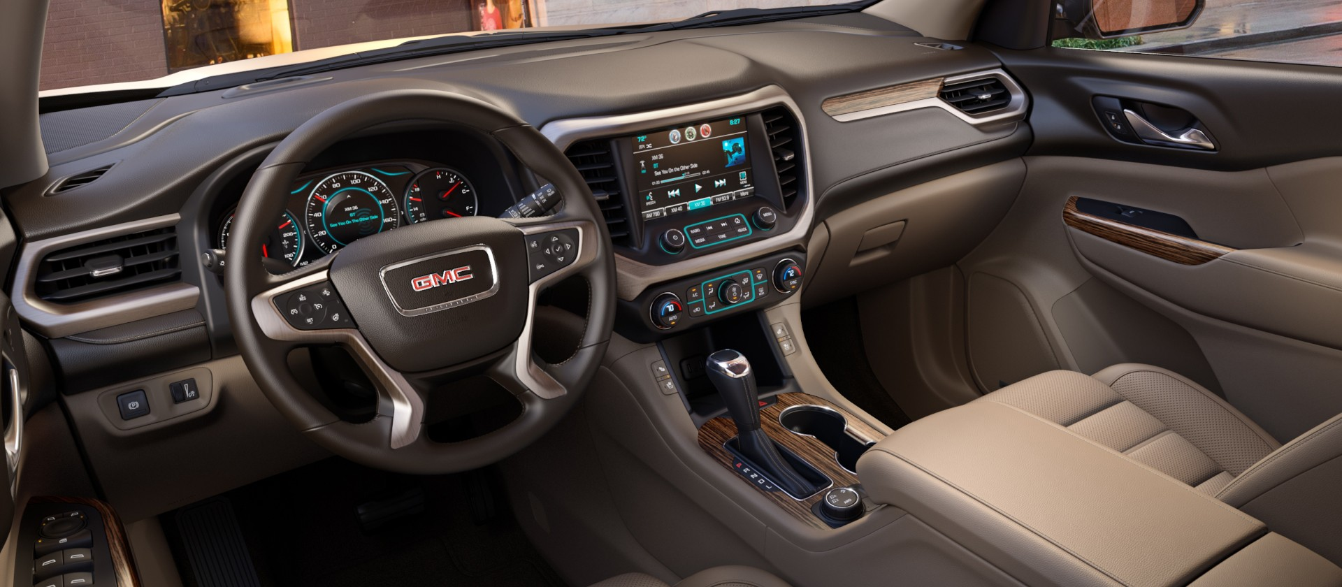 2017 GMC Acadia Denali © General Motors