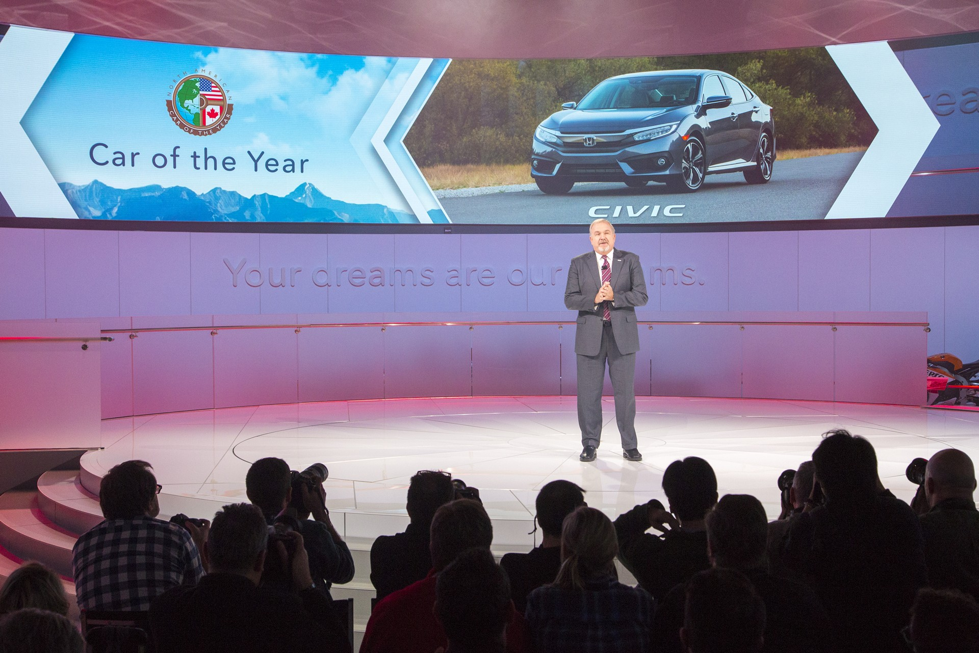 Executive Remarks From The North American International Auto - American honda
