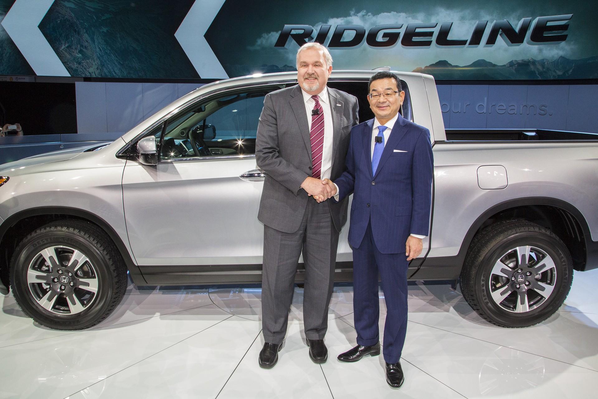 North American International Auto Show Honda Press Conference John Mendel Executive Vice President Automobile Division Of Motor Co