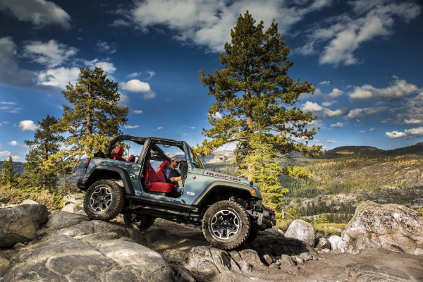 2016 Jeep Wrangler © Fiat Chrysler Automobiles N.V.