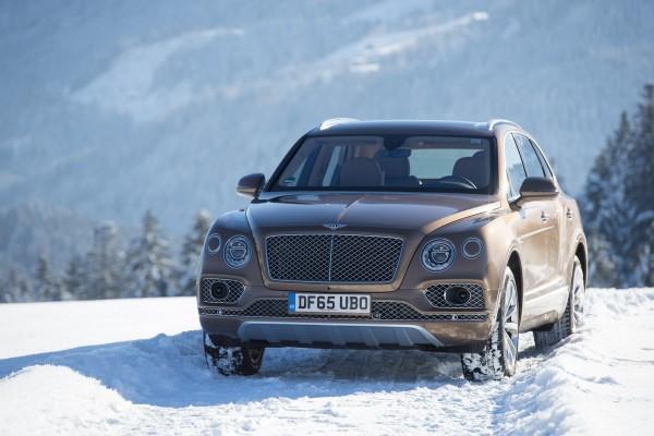 Bentley Bentayga makes Alpine debut in Kitzbühel © Volkswagen AG
