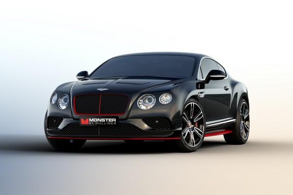"Bentley and Monster debut ""Monster by Mulliner"" Continental GT V8 S © Bentley Motors Ltd."