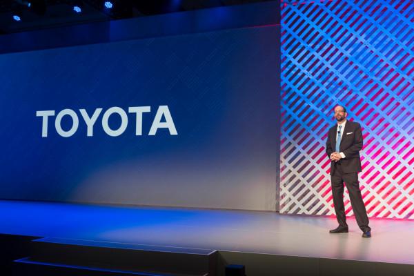 2016 Consumer Electronics Show (CES) Press Conference - Dr. Gill Pratt © Toyota Motor Corporation