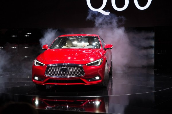 Infiniti has unveiled the new Q60 sports coupe at the 2016 North American International Auto Show (NAIAS) in Detroit © Nissan Motor Co., Ltd.