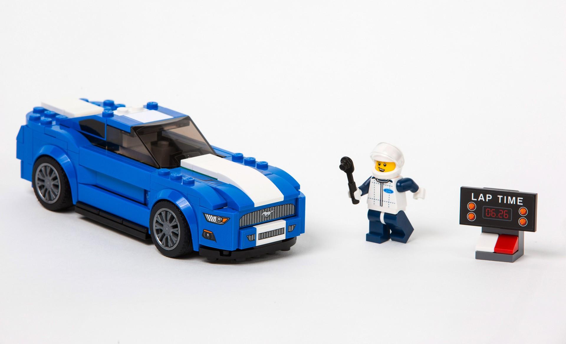 Lego Mustang Ford Motor Company Carrrs Auto Portal