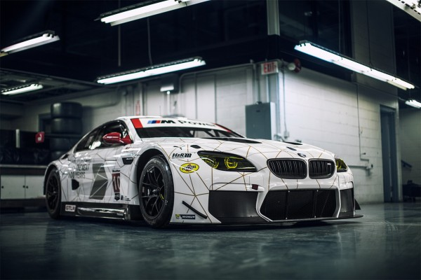 The New BMW Team RLL M6 GTLM prior to the Rolex 24 At Daytona in its special 100th Anniversary commemorative LIVERY © BMW AG